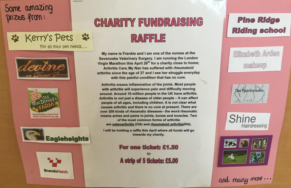 Charity Fundraising Raffle